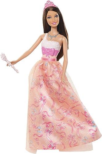 Barbie - W2859 - Poupée - Fée Fairytale Robe - Orange