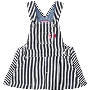 [ミキハウス ホットビスケッツ] ジャンパースカート 72-1801-616 (M(80-90cm), 紺×白)