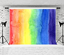 Kate 7x5ft Rainbow Photography Backdrops Color Baby Birthday Party Photo Background for Photographer Studio