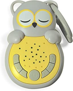 Cloud b Sweet Dreamz On The Go Owl Sound Soother with Audio Activation