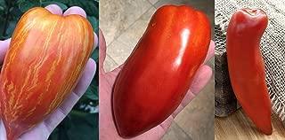 Sherwoods Ultimate Sauce Tomato Variety Seed Packet San Marzano Redorta Opalka