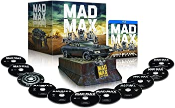 MAD MAX Anthology High Octane Edition with INTERCEPTOR Car Model 11-disc Blu-ray/DVD [European Import Limited Edition]