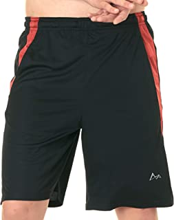 Quick Dry Gym Shorts for Men-Moisture Wicking Shorts for Running & Gym