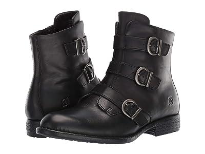 Born Nivine (Black Full Grain Leather) Women