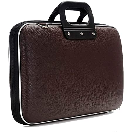 FunBlast Laptop Messenger Bag, Upto 15.6 inches, Tablet and Executive Office Bag, Available in Different Colors (Dark Brown)
