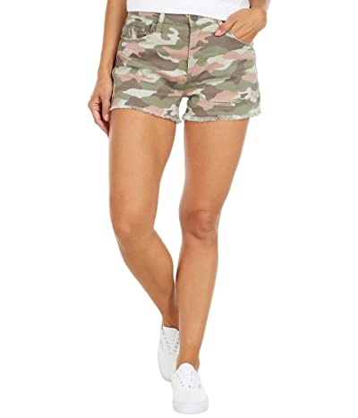 KUT from the Kloth Jane High-Rise Shorts with Fray Hem