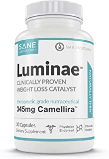 Luminae Healthy Supplement Pills with Green Tea Leaf Extract - Lower Your Set-Point Weight Faster
