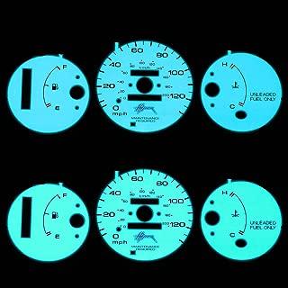For Honda Civic Indiglo Reverse Glow Gauge - EK AT D16Y7