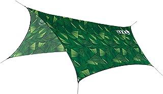 ENO, Eagles Nest Outfitters ProFly Ultralight Hammock Rain Fly Tarp, Green Tribal