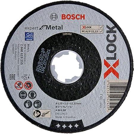 BOSCH Trennscheibe ExpertForInox Durchmesser 125mm Dicke 1mm 2608600549