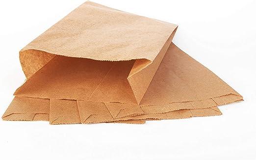 VerpG in D 1000 B/äckerfaltenbeutel Br/ötchent/üten B/äckerbeutel Snack Faltenbeutel Papier Kraft 35-40g//m/² wei/ß mitAll Natural Neutralmotiv Inkl 418 12+5x25cm 35g//m/²