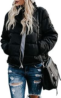 Women's Lightweight Coat Packable Quilted Puffer Short Down Jackets Outwear