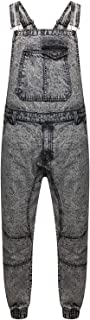 True Face Mens Denim Sleeveless John Dungarees Overalls Bib Zip Fly Regular fit Trousers Work 100% Cotton Machine Washable...