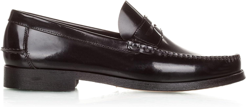 Castellanísimos Men's Mocasín Antifaz Piel black Loafers