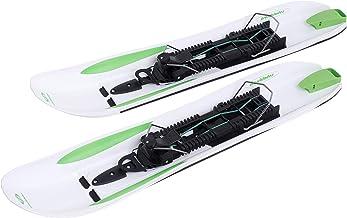 Crossblades Sneeuwschoenen hardboot, nieuw sneeuwschoensysteem waarmee je kunt stijgen, rijden en glijden, vergelijkbaar m...