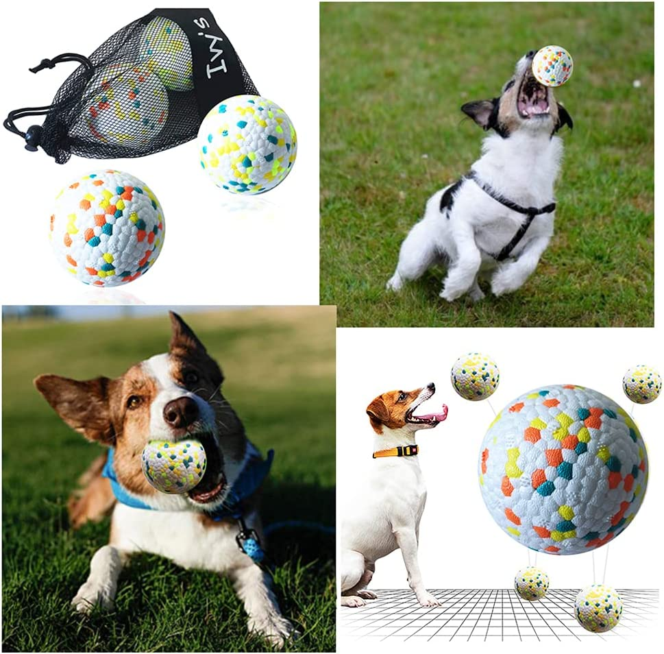 Oakland Mall 2 Packs Durable Chew-Fetch Ball Lightweight Great interest Dog f Toys