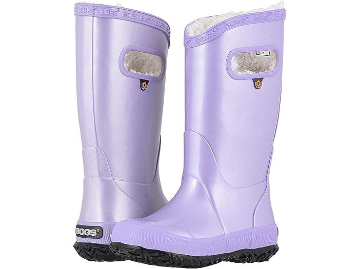 Bogs Kids Rain Boots Metallic Plush