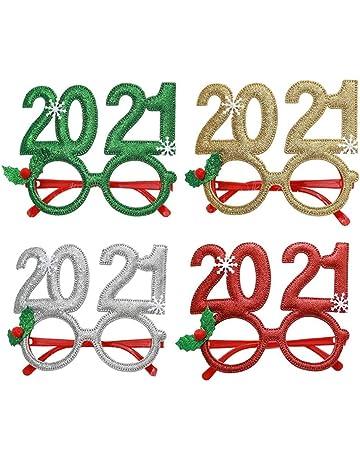 Compleanno e Feste Costumi Carnevalife Occhiali per Compleanno con Numero 20 Anniversario