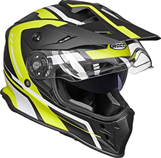 <h2>Rocc 782 Dekor Motocross Helme Schwarz/Gelb M</h2>
