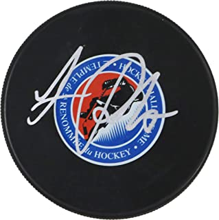 Luc Robitaille Los Angeles Kings Signed Autographed Hockey Hall of Fame Puck JSA COA