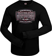 Ramstein Air Base Harley-Davidson Military Youth Bar /& Shield Black T-Shirt with Eagle Graphic on Back