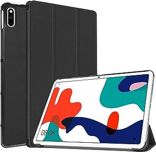 【保護フィルム2枚おまけ】 Mutucu 2020 NEWモデル HUAWEI MatePad 10.4(BAH3-L09/BAH3-W09) 10.4インチ用 ケース HUAWEI MatePad三つ折りカバー スタンド機能付き 超安定 新型...