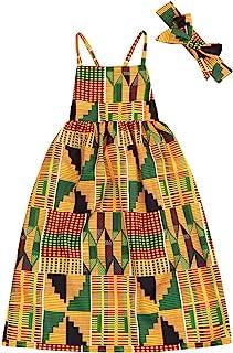 African Baby Clothes Girl Dashiki Ankara Outfit Set
