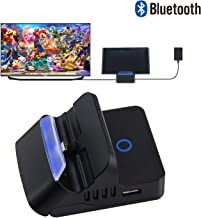 Bluetooth Adapter Dock for Nintendo Switch, Replacement Portable Mini HDMI TV Docking Station Base for Nintendo Switch Charging Dock with Extra USB 3.0 Port