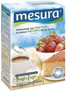 Mesura Edulcorante de Fructosa - Paquete de 12 x 20.83 gr - Total: 250 gr