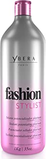 Ybera Keratin Hair Straightening Treatment Fashion Stylist Platinum | Smooth System | Extreme Shining Hair | Formulated for Blond, Bleached Hair | Enhanced with Omega | 35 FL Oz