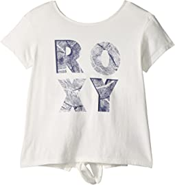 Roxy Kids Sunshine Story Leaves Corpo Tee (Big Kids)