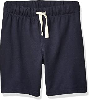 The Children's Place Boys 3000142 Solid Drawstring Shorts Casual Shorts - Blue
