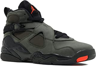 7aef2842797 Jordan 8 BG Big Kid Shoes Sequoia Black Max Orange 305368-305