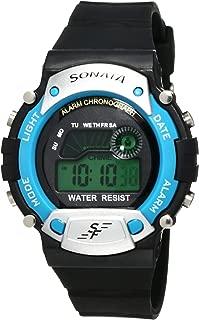Sonata Digital Grey Dial Men's Watch -NK7982PP04