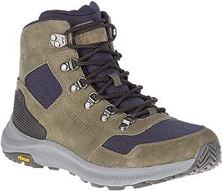 حذاء مشي Merrell Ontario 85 Mid للرجال بلون زيتوني مقاس 8. 5
