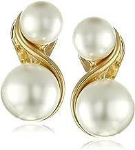 Best faux pearl clip on earrings Reviews
