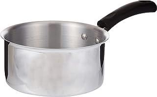 Raj 2724626402762 Sauce Pan, Silver, 18 cm, Aluminium