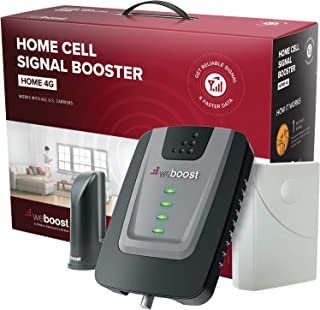 weBoost Home 4G (470101) Indoor Cell Phone Signal Booster for Home and Office –..