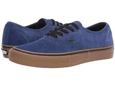 Vans Authentictm Pro ((Rainy Day) Navy/Gum) Skate Shoes