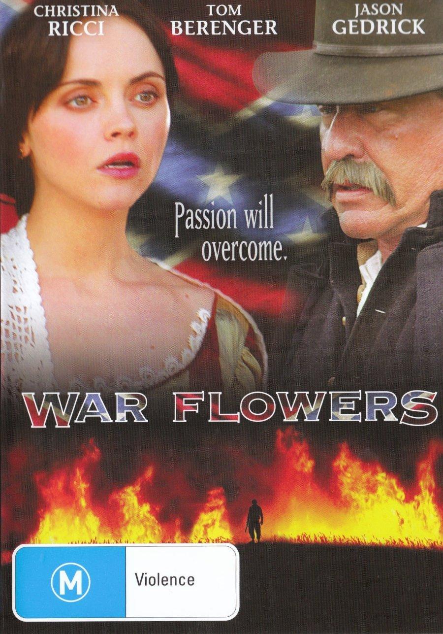 War Flowers NON-USA Over item handling FORMAT PAL Australia Import - Special price Reg.4