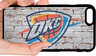 OKC Thunder Logo Brick Background Basketball Phone Case Cover - Select Model (iPhone 11 Pro)