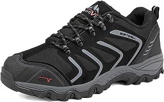 NORTIV 8 Men's Low Top Waterproof Hiking Shoes Outdoor Lightweight Backpacking Trekking Trails