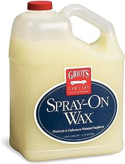 Griot's Garage 11097 Spray-On Wax Gallon