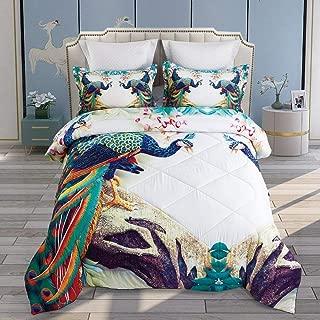 peacock themed bedding