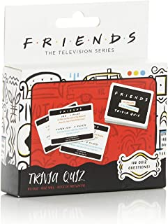 Paladone Friends TV Show Trivia Quiz Game with 100 Questions