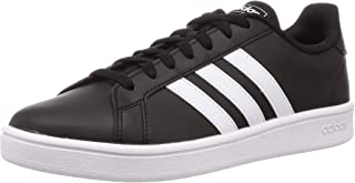 adidas Grand Court Base, Scarpe da Tennis Uomo, Core Black Ftwr White Ftwr White, 48 EU