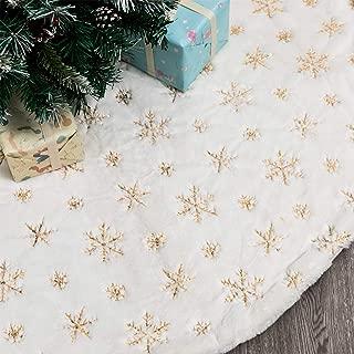 Best snowflake tree skirt Reviews