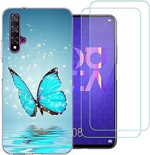 Funda para Huawei Nova 5T / Honor 20,446 Suave Transparente TPU Silicona Gel Protectora Carcasa para Huawei Nova 5T / Hono...