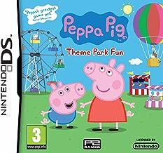 peppa pig theme park fun nintendo ds