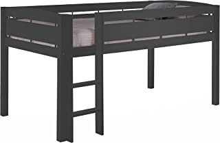 Storkcraft Canwood Whistler Junior Bed-Gray Loft, Single